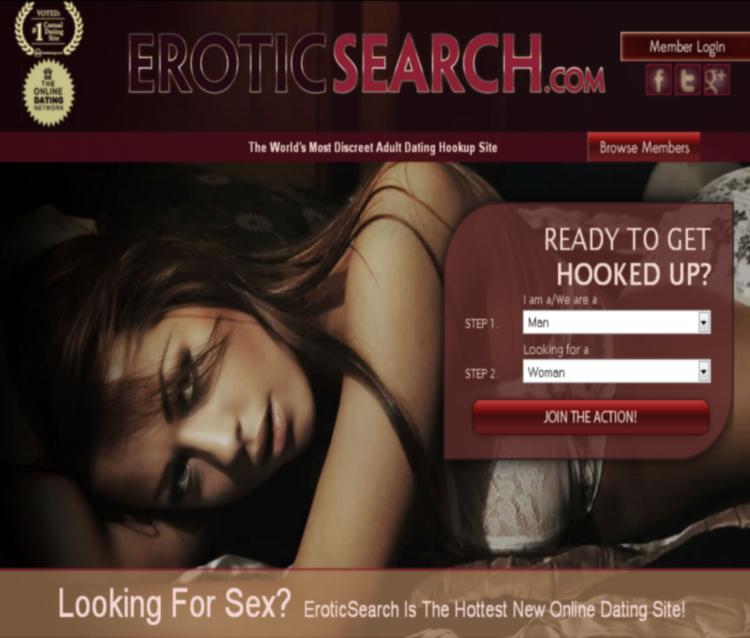 Eroticsearch Homepage