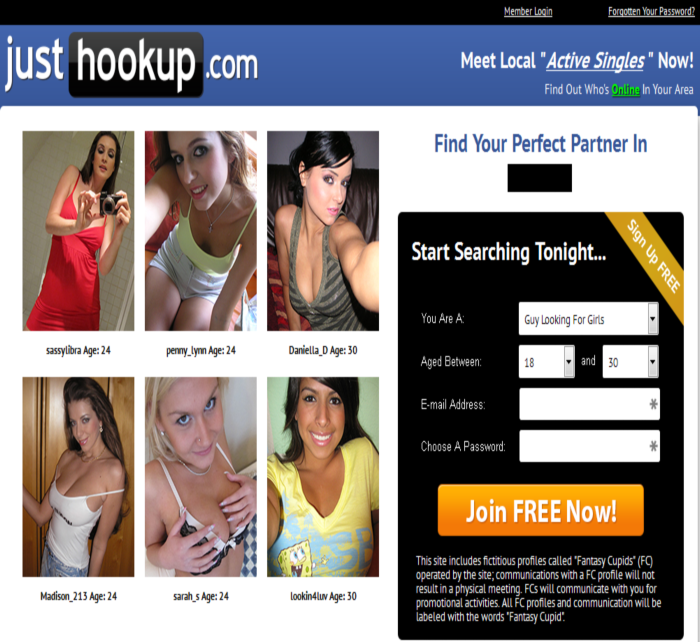 hookup dating service