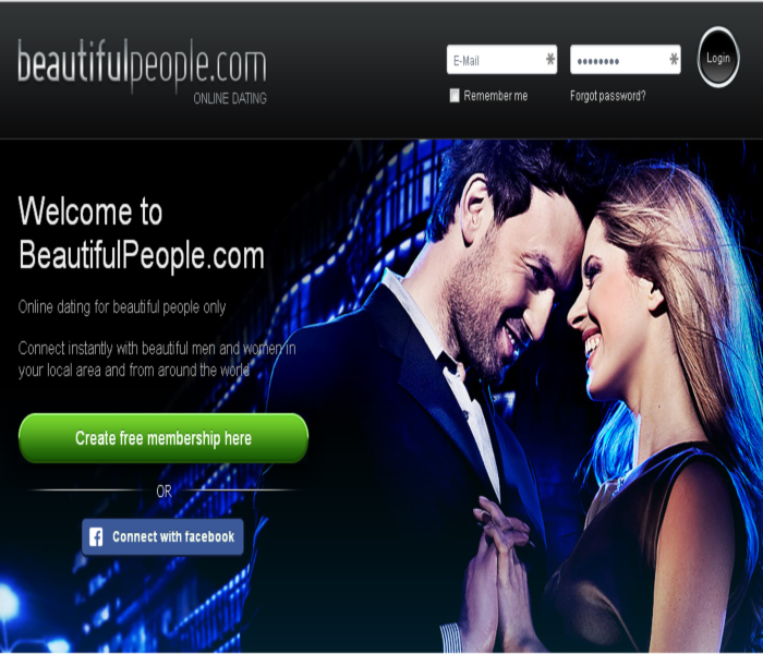 beautifulpeople homepage