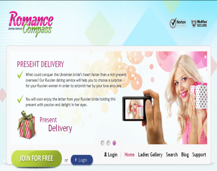 romance compass dating service A brand new dating service where you can find special and the most beautiful russian and ukrainian brides for those men that are looking for.