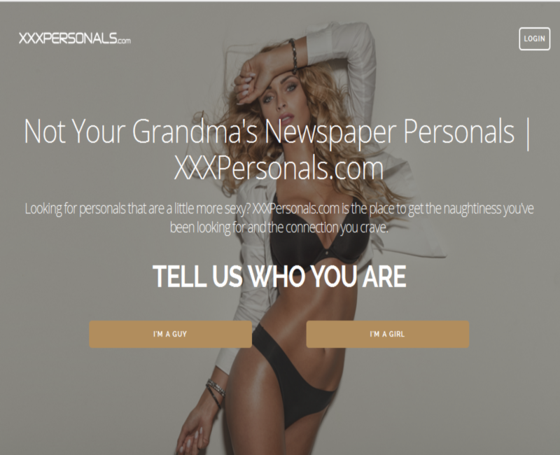 Putting xxxPersonals to the test